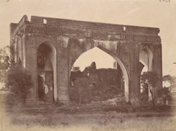 General view of the Sangat Mahal at Torweh, near Bijapur.